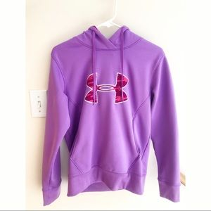 Under Armour Storm Purple & Pink Camo Hoodie